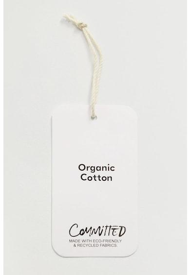 Mango Again shopper fazonú organikuspamut táska női