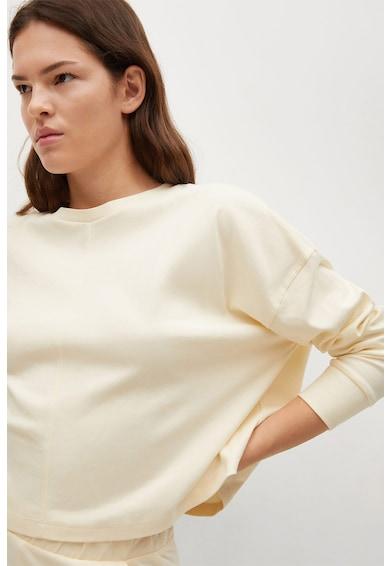 Mango Splong crop pulóver női