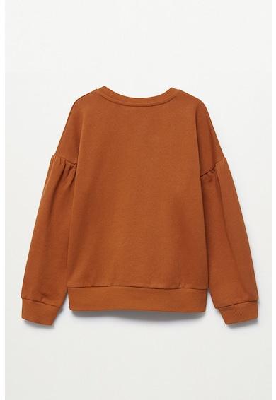 Mango Mcheese kerek nyakú pulóver Lány