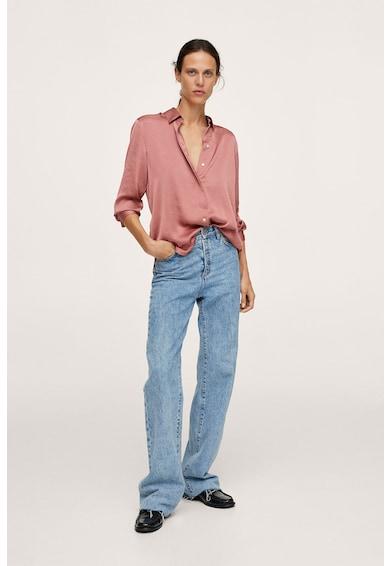 Mango Ideale bő fazonú ing hegyes gallérral női