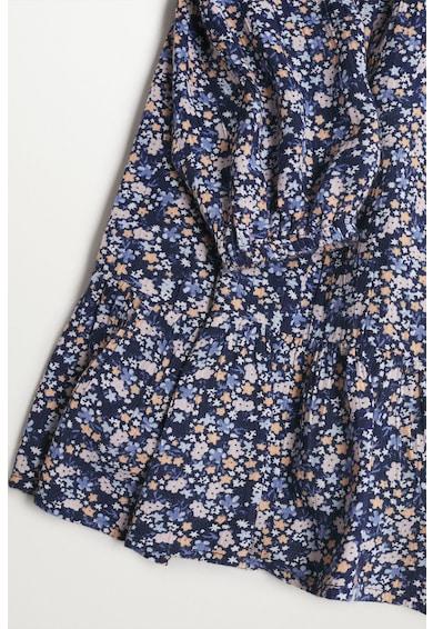 Mango Sophie bővülő fazonú mintás ruha Lány