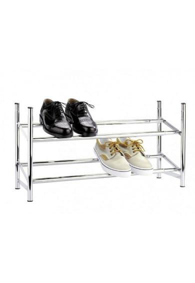 Wenko Suport pantofi extensibil,  62-115 cm, Gri Barbati