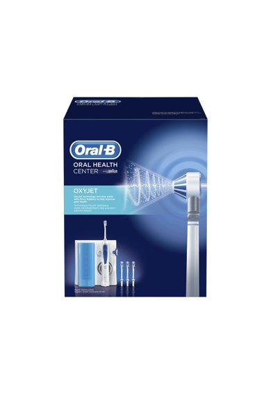 Oral-B Irigator bucal Oral B, 5 trepte de intensitate, 4 capete intradentare, 600 ml, Alb Femei