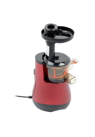 Star-Light Storcator de fructe si legume cu melc  , 150 W, 55 RPM, Recipient suc 1.0 l, Recipient pulpa 0.8 l, Functie Reverse, Rosu Femei