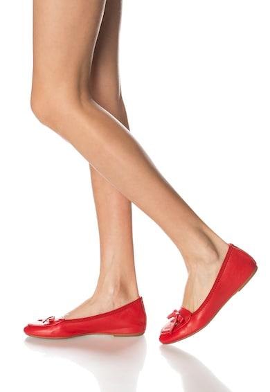 Zee Lane Balerini elastici rosii din piele Femei