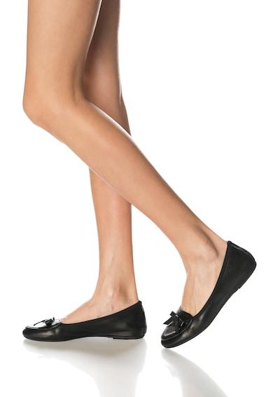 Zee Lane Balerini elastici negri din piele Femei