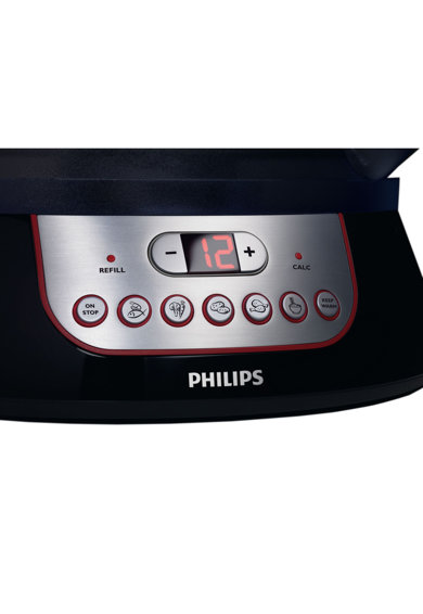 Philips Aparat de gatit cu aburi  HD9140/91, 900 W, Timer, Display Digital, Negru Femei