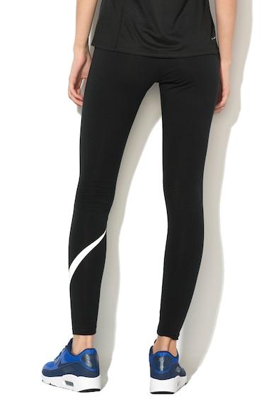 Nike Club Logo 2 női edzőnadrág, Fekete/Fehér, L 7 női