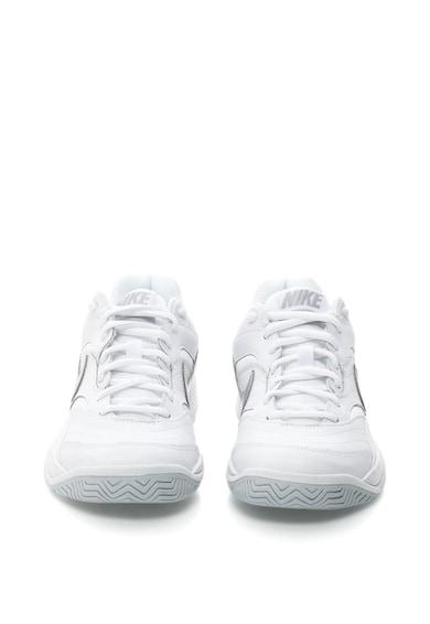 Nike Pantofi sport cu insertii de piele pentru tenis Court Lite Femei
