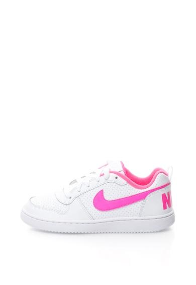 Nike Court Borough sneakers cipő bőr betétekkel Lány