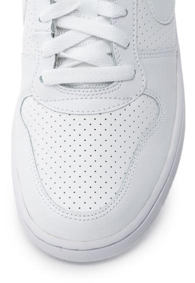 Nike Pantofi sport mid-high de piele cu detalii perforate Nike Court Borough Femei
