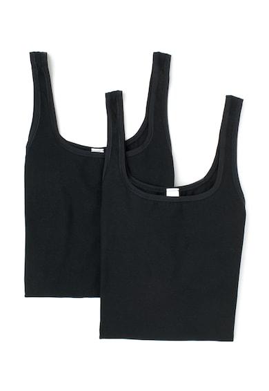 Skiny Комплект черни спортни топове - 2 броя Жени