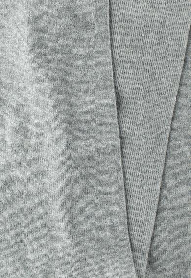 United Colors of Benetton Fular gri din amestec de lana Femei