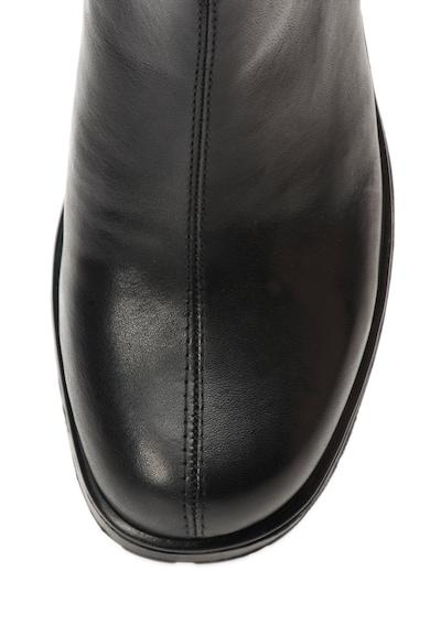 Vagabond Shoemakers Dioon Fekete Bőr Bokacsizma női