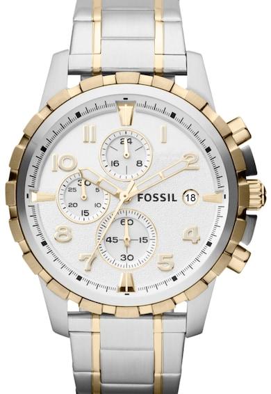 Fossil Часовник с хронограф и верижка Жени