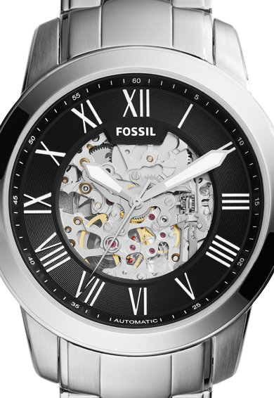 Fossil Ceas automatic cu mecanism vizbil pe cadran Grant Femei