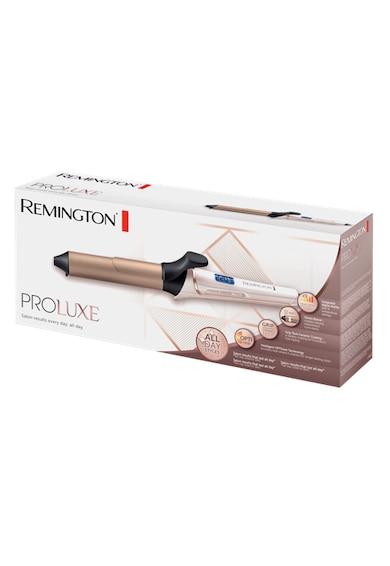 Remington Ondulator  PROluxe , Invelis Grip-Tech, OPTIheat, 210°, 10 setari de temperatura, Functie PRO+, 32 mm, Auriu Femei
