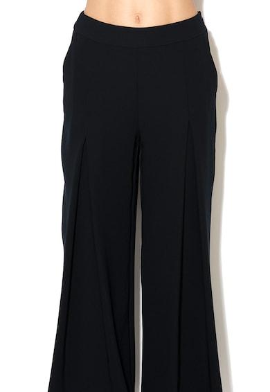 Ipekyol Черен панталон с широк крачол Жени