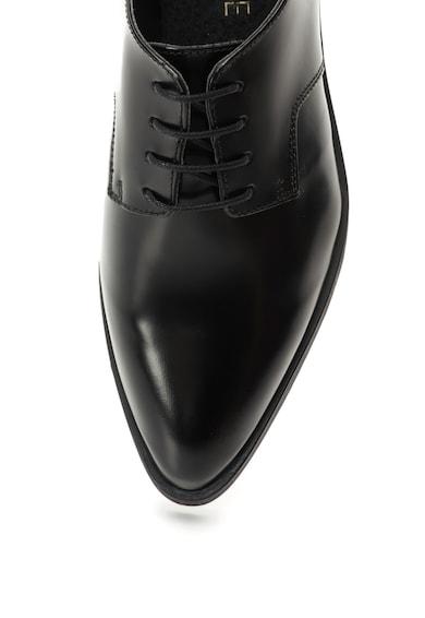 Zee Lane Pantofi Oxford negri din piele cu siret Allei Femei