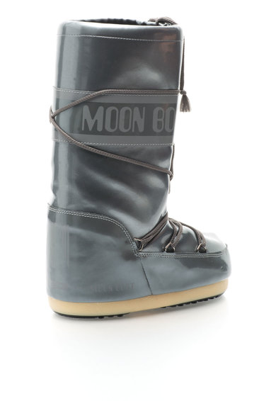 Moon Boot Ezüstszín Apres-Ski Bebújós Csizma női
