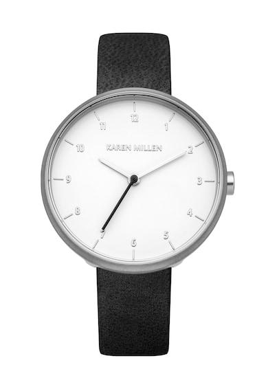 Karen Millen Часовник с кожена каишка Жени