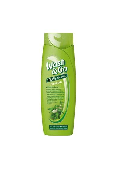 Wash&Go Sampon  cu extract de urzica pentru par cu tendinte de rupere, 400 ml Femei