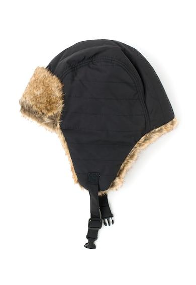 Timberland Черна ушанка с еко пух Мъже