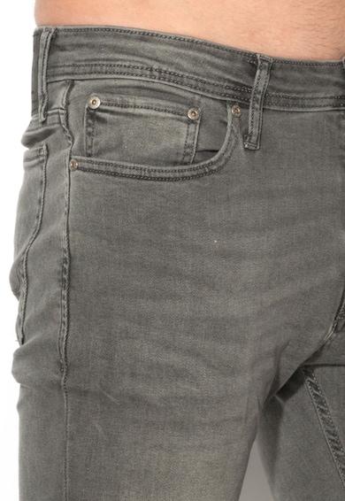 Jack&Jones Сиви прилепнали дънки Мъже