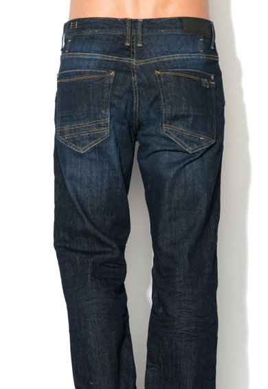BLEND Скосени дънки със захабен ефект Мъже