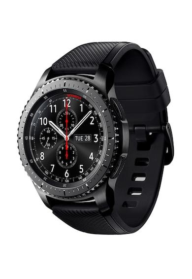 Samsung Ceas Smartwatch  Gear S3, Frontier, bratara activa silicon, IP68 Femei