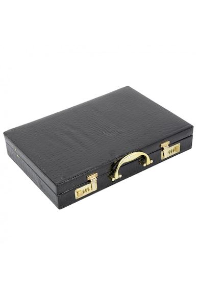 Kring Set 24 cutite in servieta din piele  Otel inoxidabil Femei