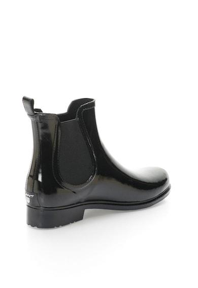Gant Ghete de ploaie negre cu aspect lacuit Tara Femei
