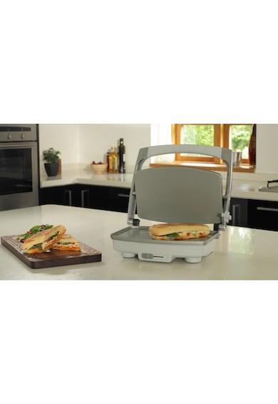 Breville Sandwich-maker  Panini , 1000 W, DuraCeramic, 2-3 sandwich-uri, Argintiu Femei