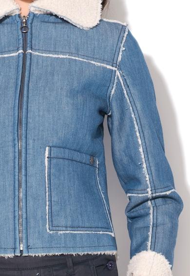 Pepe Jeans London Яке от деним с пухена вата Жени