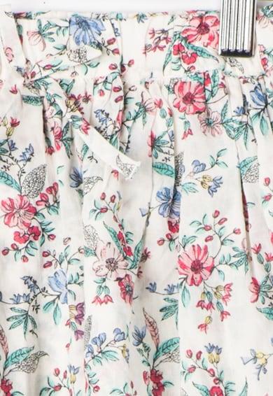 Pepe Jeans London Fusta alb murdar cu imprimeu floral Macy Fete