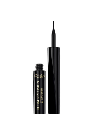 L'Oreal Paris Tus de ochi lichid  Super Liner Ultra Precision Black, 2 ml Femei