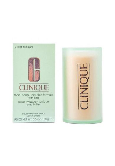 Clinique Tratament  Facial Soap for Oily Skin, 100 gr Femei