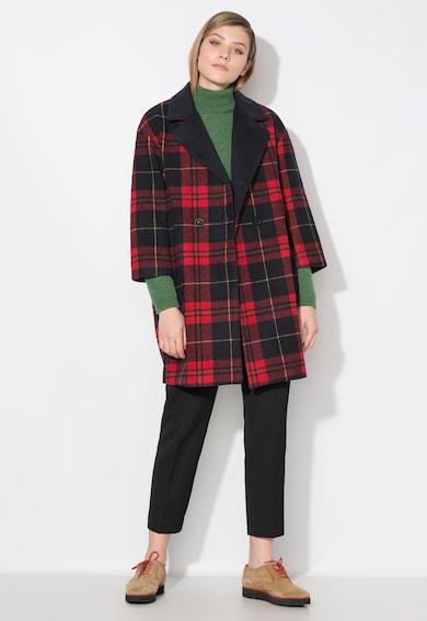 Zee Lane Denim Карирано палто в червено и черно Жени