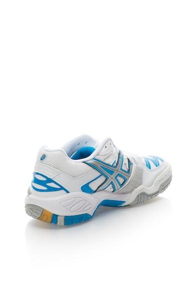 Asics Pantofi sport alb cu albastru paun Gel Progressive Femei