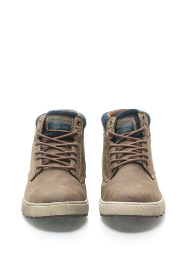 Goodyear Pantofi casual maro cu bleumarin cu siret Barbati
