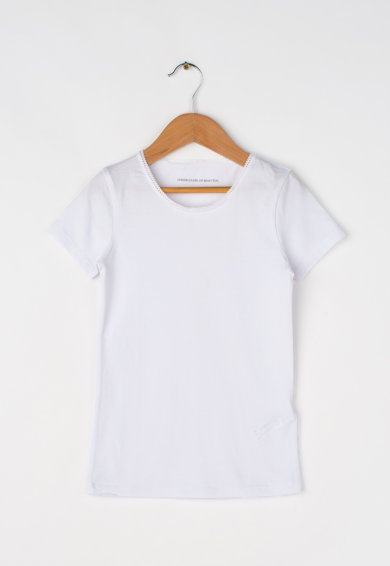 Undercolors of Benetton Kids White T-shirts Set – 2 pieces Момичета