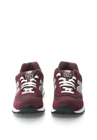 574 Nyersbőr Sneakers Cipő Hálós Anyagbetéttel - New Balance (M574NBU) 4134815fa2