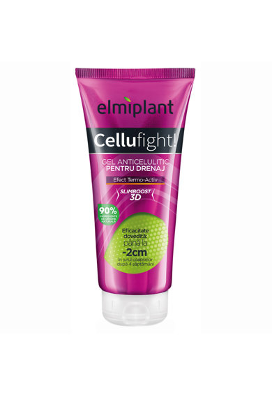 Elmiplant Gel anticelulitic pentru drenaj  Cellufight, 200 ml Femei