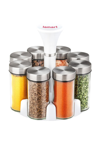 Lamart Set rotativ condimente  8 recipiente Femei