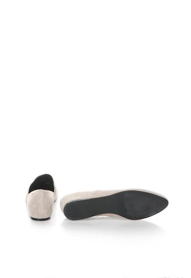 Calvin Klein Balerini grej de piele intoarsa Magna Femei