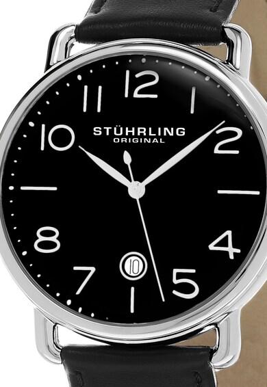 Stuhrling Часовник Symphony в сребристо и черно Мъже