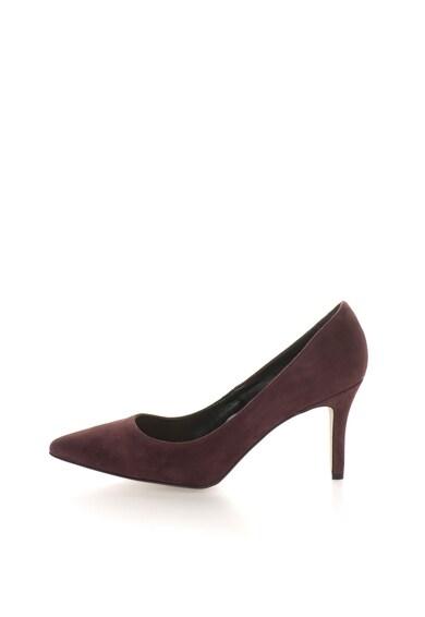 Versace 19.69 Abbigliamento Sportivo Pantofi violet prafuit de piele intoarsa cu varf ascutit Simonne Femei