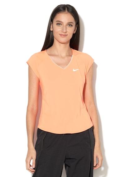 Pure V-nyakú teniszpóló - Nike (728757-877) f145e46957