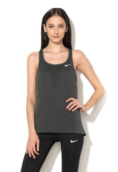 Nike Top cu perforatii pentru alergare Femei