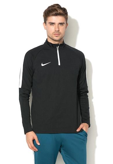 Nike Zipzáros Futball Pulóver Polárbéléssel férfi